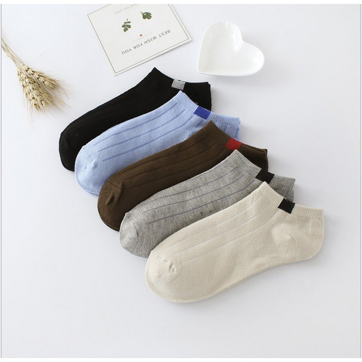 Casual Cotton Ankle Socks