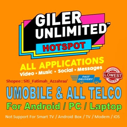 U Mobile GX30 Unlimited Data Hotspot Umobile GX30/GX50 Bypass Hotspot