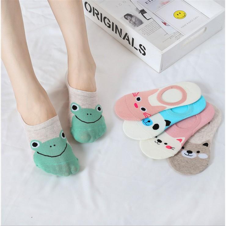 irls Sock Low Ankle Korean  cute Socks